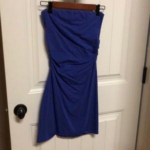 Victoria secret strapless cotton dress